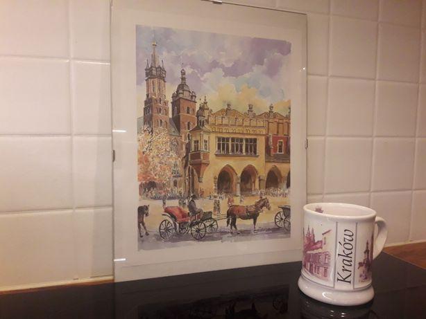 Kubek i obrazek z Krakowa