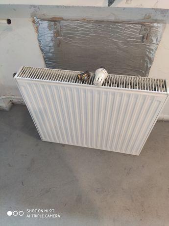 Grzejniki stalowe z termostatem 2 sztuki