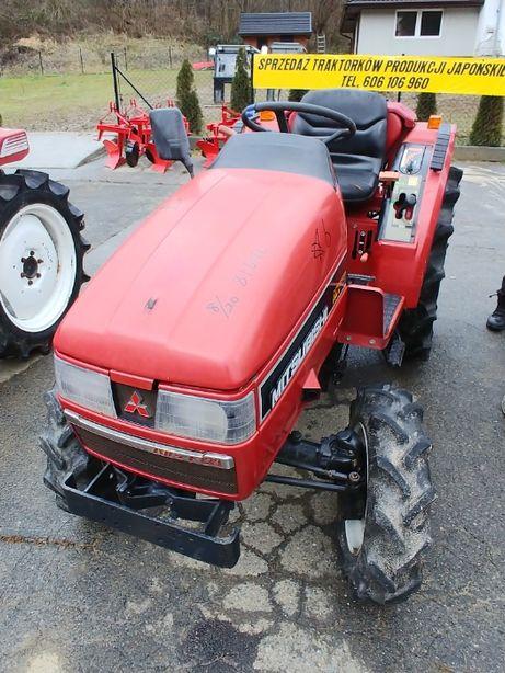 Traktorek japoński Mitsubishi MT205