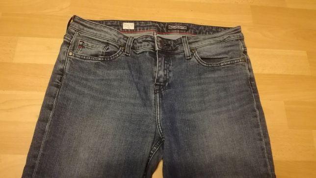Spodnie jeansowe TOMMY HILFIGER ROME RW srraight fit r.30 stan bdb