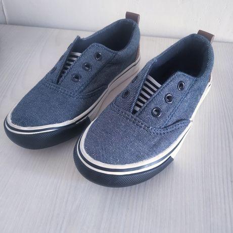 Тапочки макасины кроссовки в школу или сад сменка 27 размер (18см)