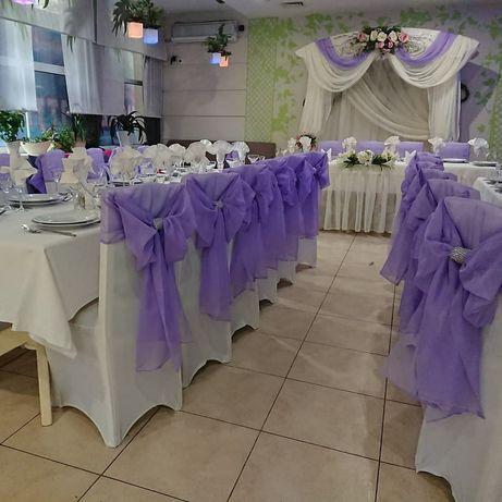Чехлы для стульев свадебные