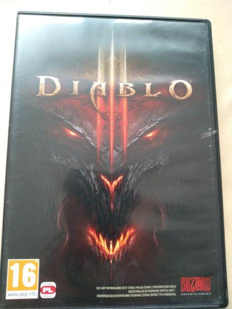 DVD z grą Diablo 3 pl