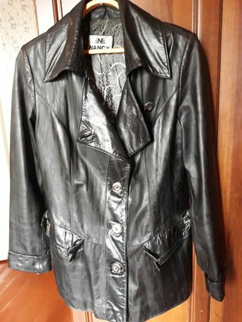 Куртка кожаная женская размер 46-48