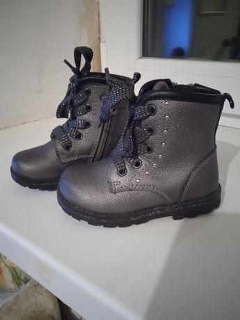 Демисезонные ботинки на девочку 21 размер