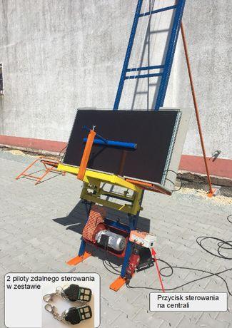 Winda dekarska wyciąg model 2020 14m dla FOTOWOLTAIKI