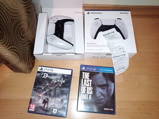Last of us 2 + Demon Souls + DualSense офіційні ps4 ps5 playstation