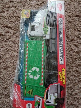 Samochód Dickie Toys City Wielki wóz recyklingowy