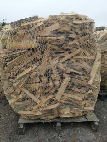 Drewno opałowe 100% BUK SUCHE - drewno bukowe, pocięte, połupane