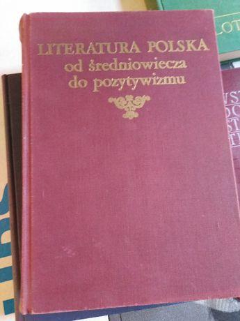 Literatura Polska od średniowiecza do pozytywizmu, PWN