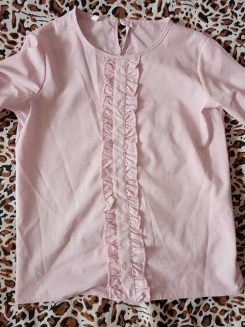 Нежная блузка в школу