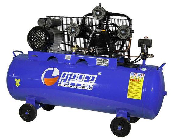 Kompresor Sprężarka olejowa 150L3 tłoki 8bar 500l/min 3KW 230V