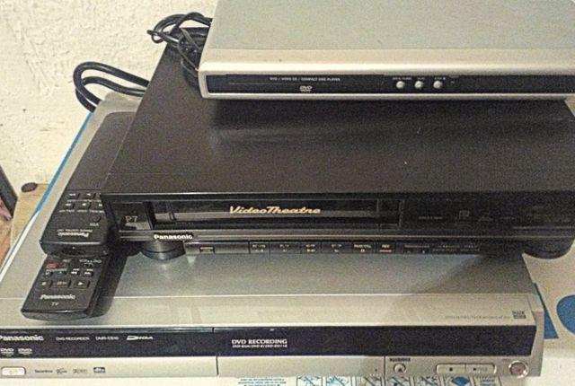 Magnetovid,Nagrywarka dvd,Odtwarzacz dvd,-Panasonic ,