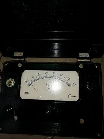 Термометр 1963 року на щупи -5 +70