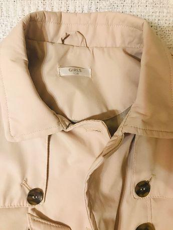 Płaszcz beż prochowiec 128