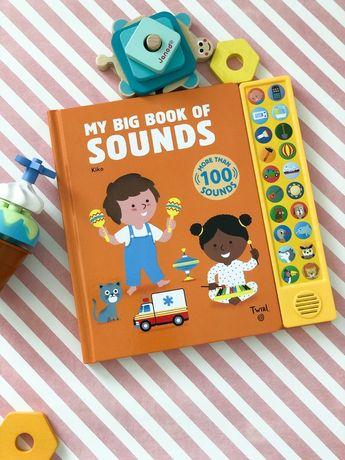 My big book of Sounds более 100звуков,музыкальная книга на англ