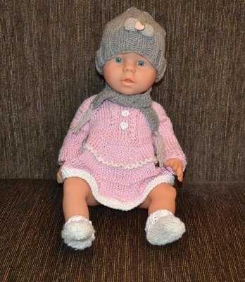 Новая одежда на куколку беби борн
