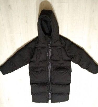 Теплый пуховик Парка Куртка Пальто Утиный пух