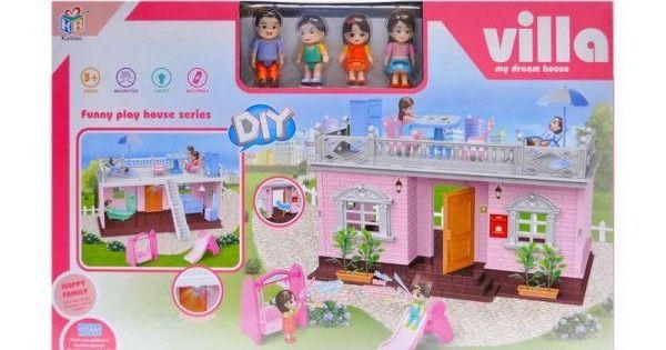 Ляльковий будинок кукольный домик