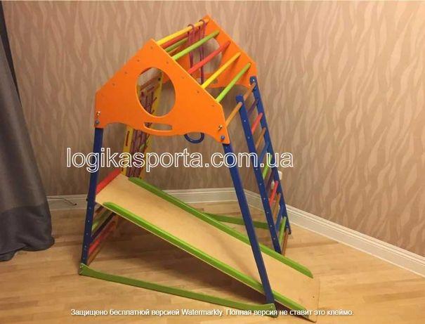 Горка, игровая площадка, качели, спортивный детский комплекс, уголок