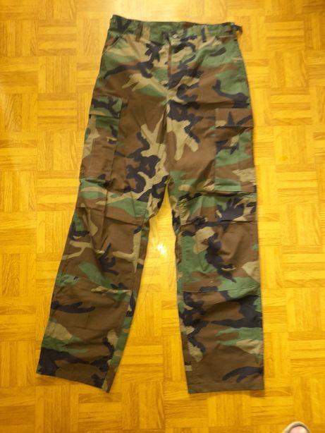 Spodnie BDU Woodland Wrangler