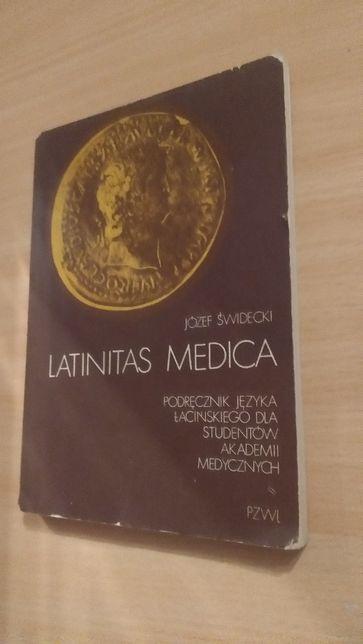 Podręcznik łacińskiego Latinitas Medica Józef Świdecki medycyna