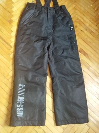 Лыжные штаны новые 10 -11 лет