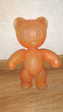 Медведь, мишка игрушка СССР пластмасса