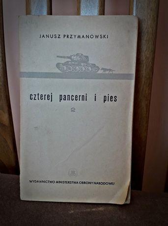 """Książka """"Czterej pancerni i pies"""" Janusz Przymanowski"""