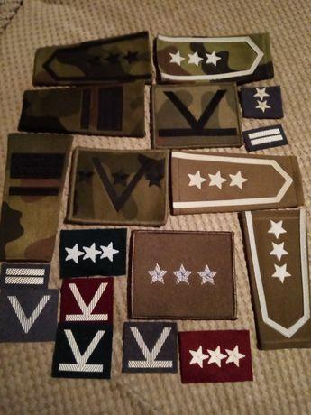 Militaria, pagony i naszywki wojskowe