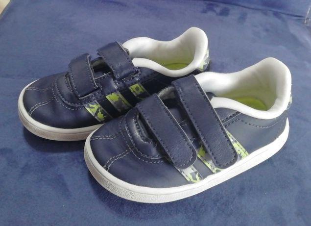 buty sportowe dziecięce SNEAKERSY- adidas r. 21