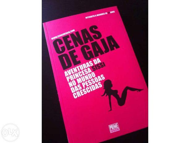 """Livro """"Cenas de gaja"""""""