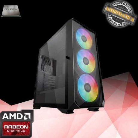 Computador Novo AMD 5600x  e AMD RX 6700XT de 12GB