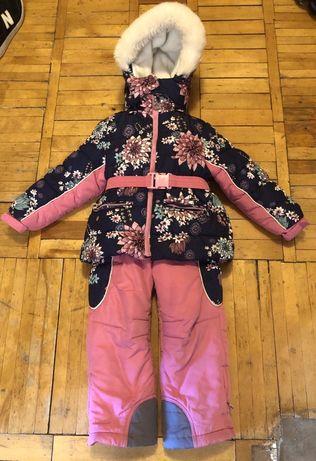 Chicco Flurry зимний термо-комбинезон р.104-110  костюм Чикко