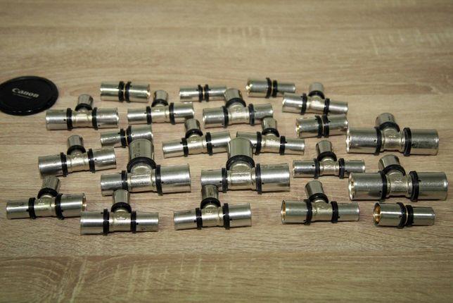 Пресс-фитинги для металлопластиковых труб.