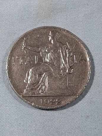 Италия 1 лира, 1922