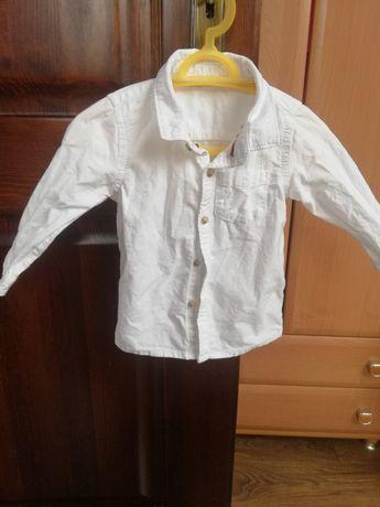 Koszula biała chłopięca Marks & Spencer rozmiar 74