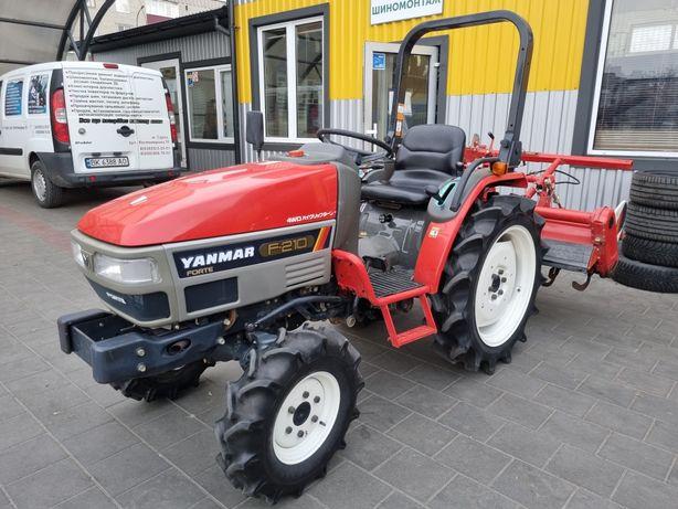 Японский мини трактор Yanmar Янмар f 210