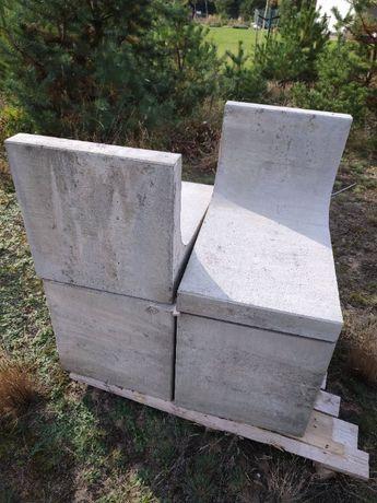 l-ka elka ściana oporowa prefabrykowane beton ogród jadar 9 sztuk