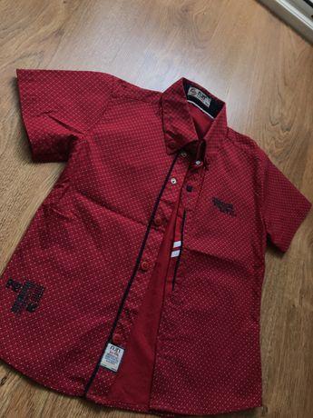 Рубашка на мальчика р. 104