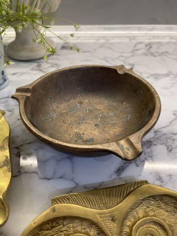 Антиквар пепельница медь бронза латунь Германия