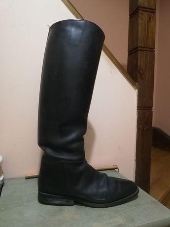Buty jeździeckie oficerki kowbojki