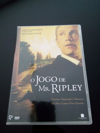 "DVD - ""O Jogo de Mr. Ripley"" com John Malkovich"