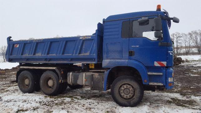 Transport wywrotka 16t - Piasek Beton Palety Żwir Wywóz gruzu Ziemia