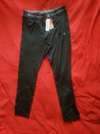 Nowe spodnie męskie Champion treningowe leginsy rozmiar XL czarne