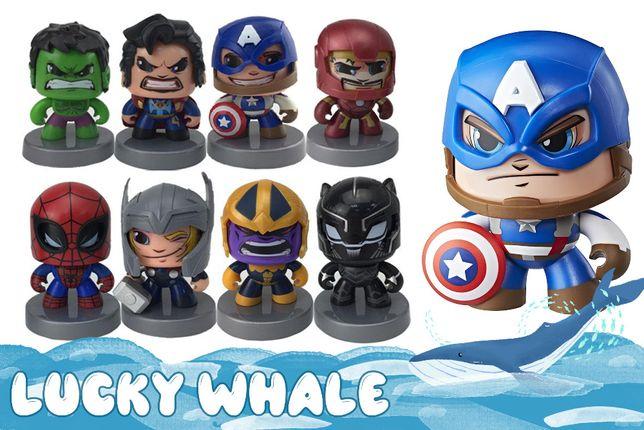 Фигурка MARVEL супергерои марвел (меняют лица) Mighty Muggs коллекция