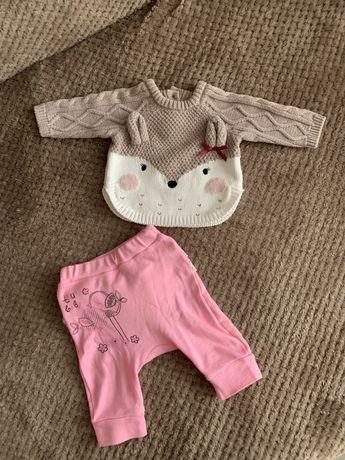 Свитер для новорожденных,свитер 50-56,костюм для новорожденной