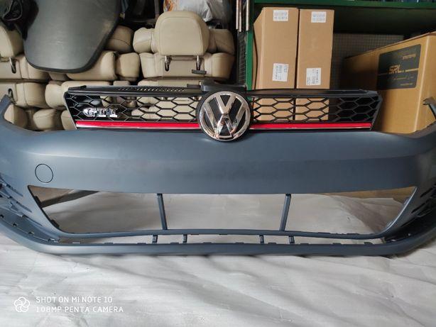 VW Golf 7 Гольф VII USA GTI Решітка радіатора Решетка радиатора Бампер