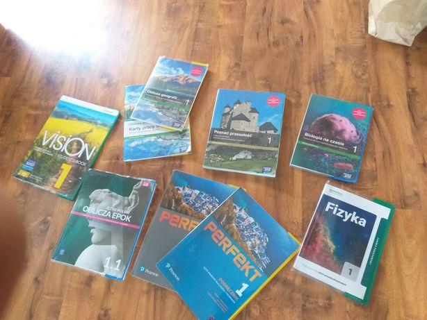 Książki do 1 klasy technikum po szkole podstawowej