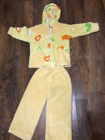 Пижама махровая на 5 лет
